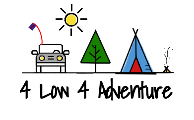 Logo for 4 low 4 adventure