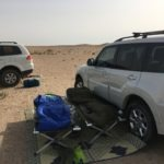 Camping at the Qatar/Saudi Border