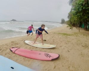 Learning to Surf – Sri Lanka, Aug 2019