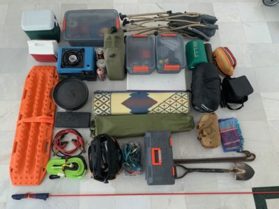 Desert camping packing list