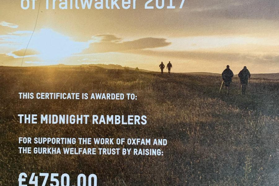 Trailwalker Night Ramblers
