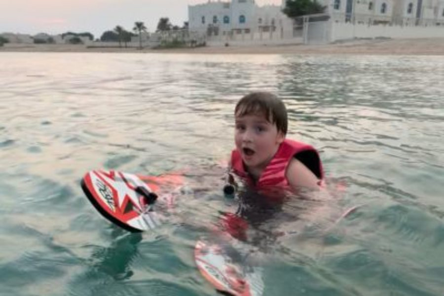 Can a 4 year old water ski?