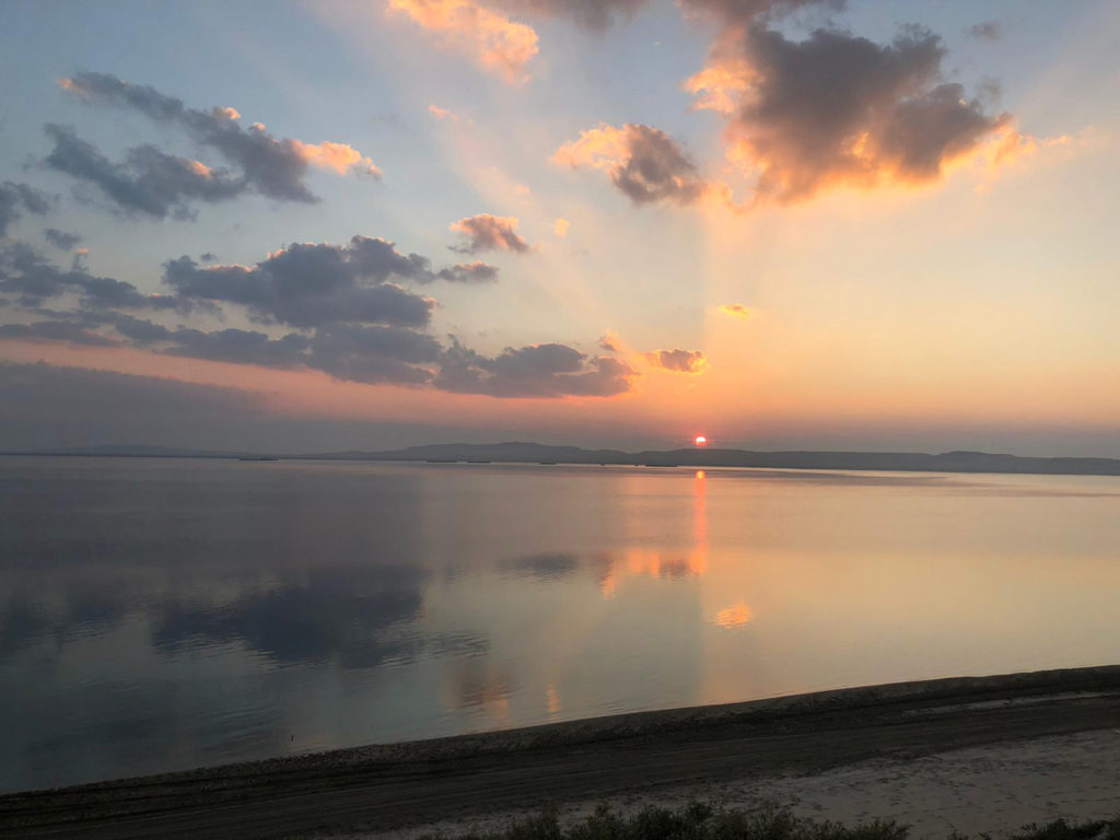 Desert Sun rise