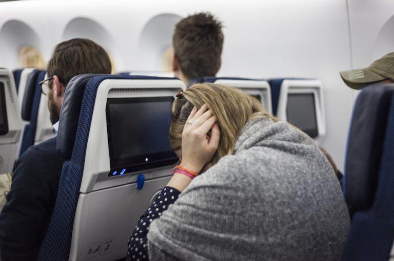 Long Haul flight misery