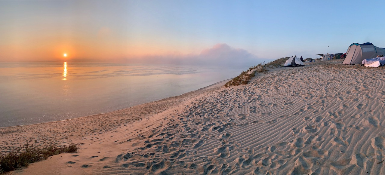 The Inland Sea Qatar Sunrise