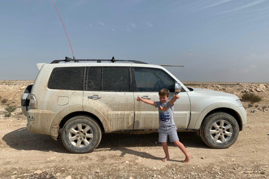 Rain in the Desert = Fun, Fun, Fun