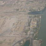 Shat Al Arab Hotel from the air
