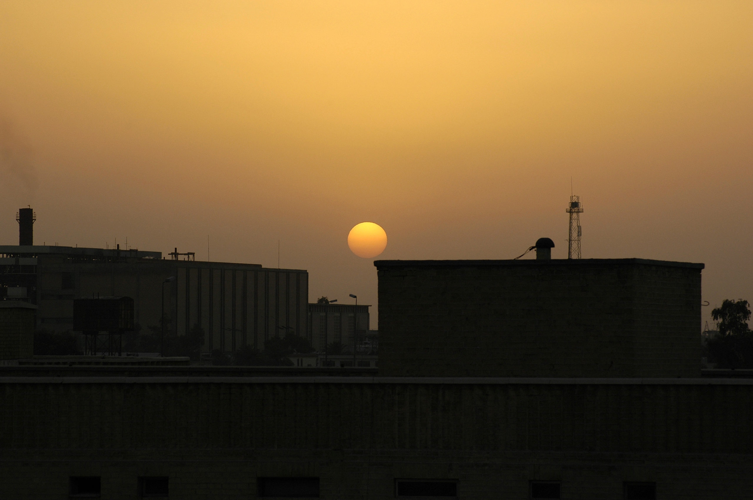 Sunset in Iraq